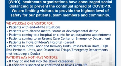 Inova Visitor Guide (March 20, 2020)